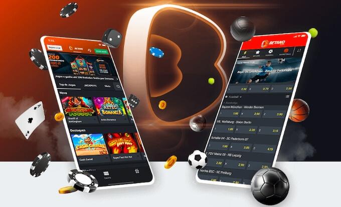 App móvel casino Betano