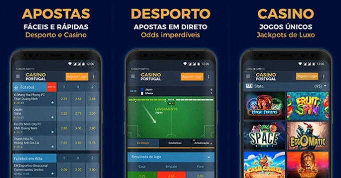 App móvel Casino Portugal