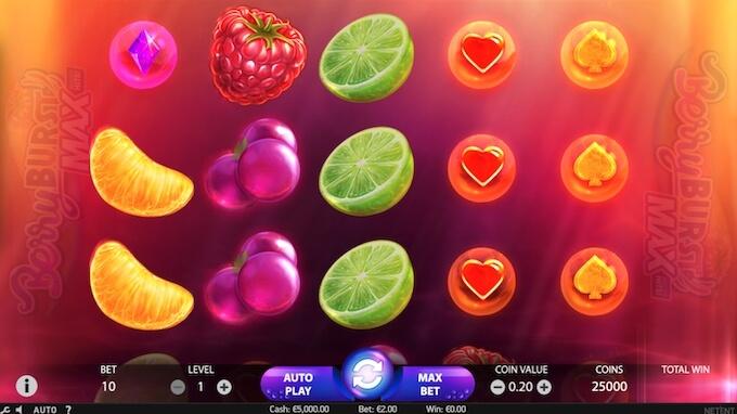 Berryburst jogo de slot