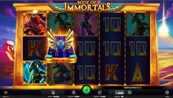 Book of Immortals slot iSoftBet