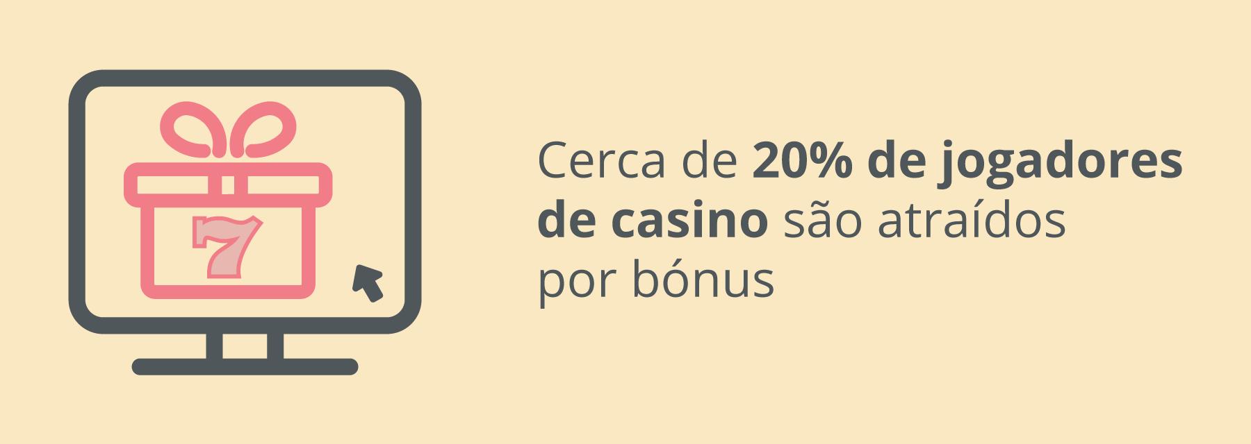 Diferentes tipos de bónus de casino