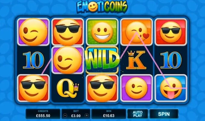 Slot Microgaming Emoticoins jogar