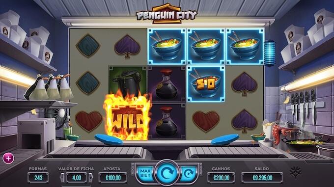 Escape mode Penguin city Slot