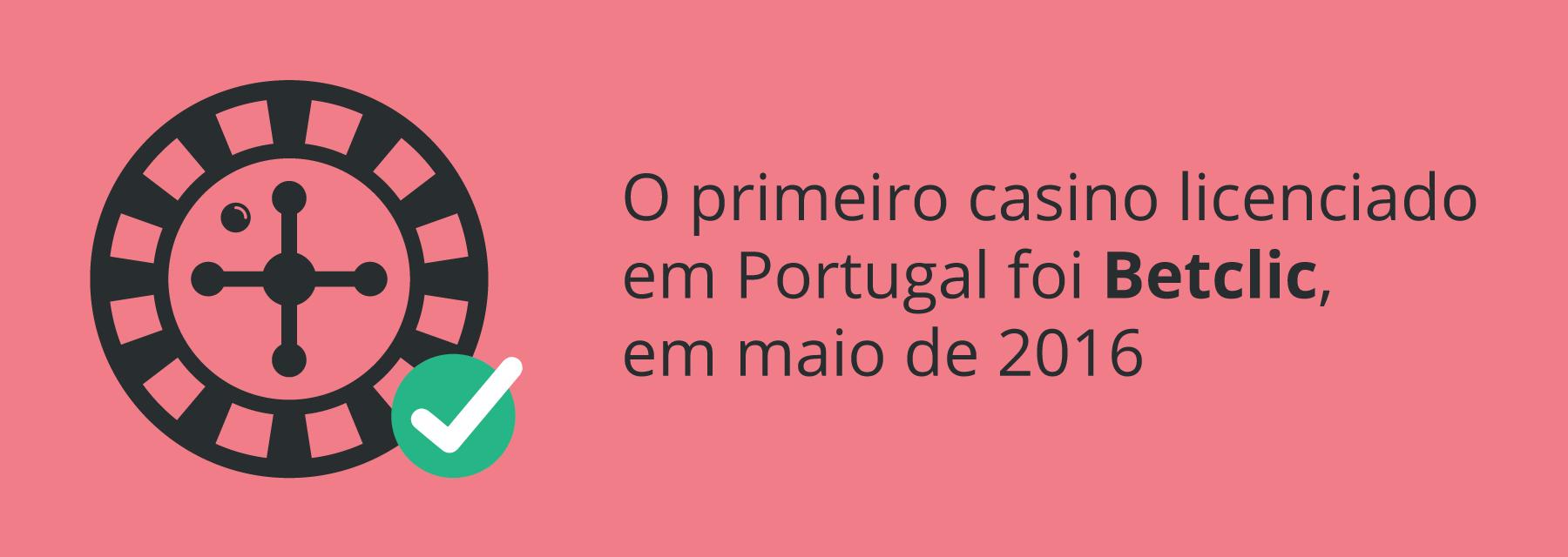 Primeiro casino licenciado em Portugal