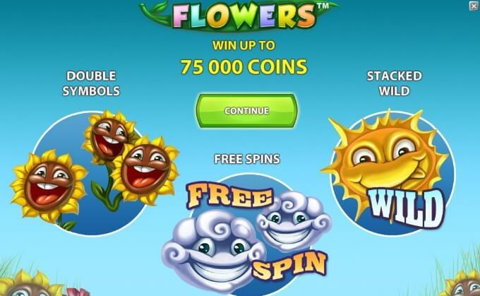 Recursos na slot Flowers