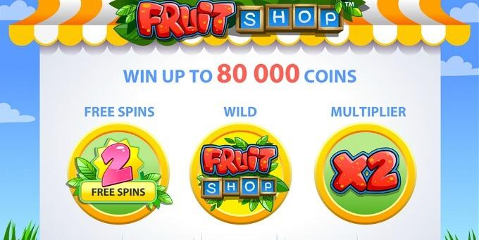 Fruit Shop jogo de slot