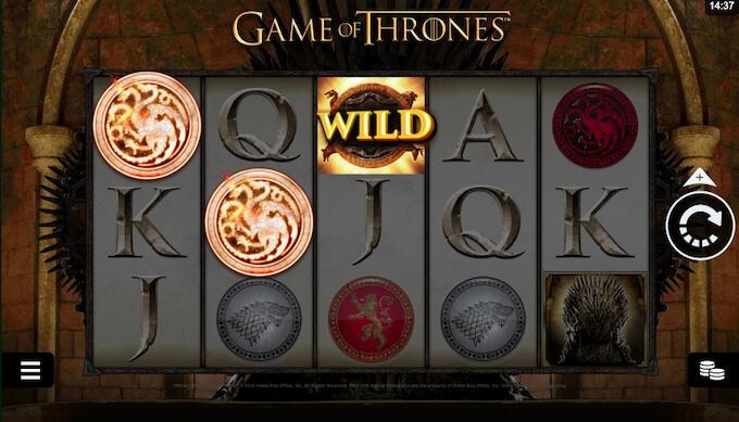 Game of Thrones jogo de slot