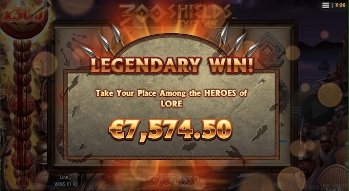Grande vitória 300 Shields Extreme
