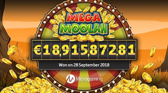 Mega Moolah maior jackpot
