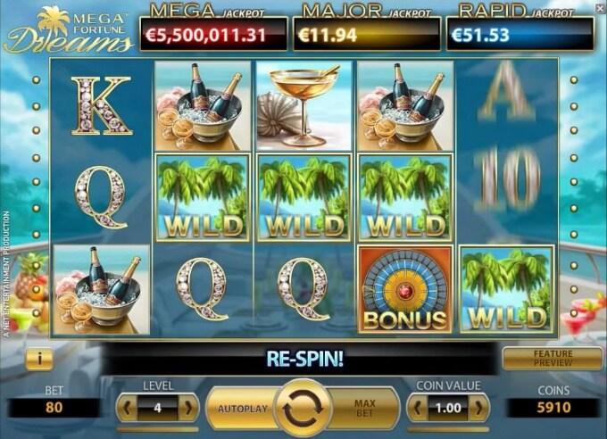 Slot Mega Fortune Dreams