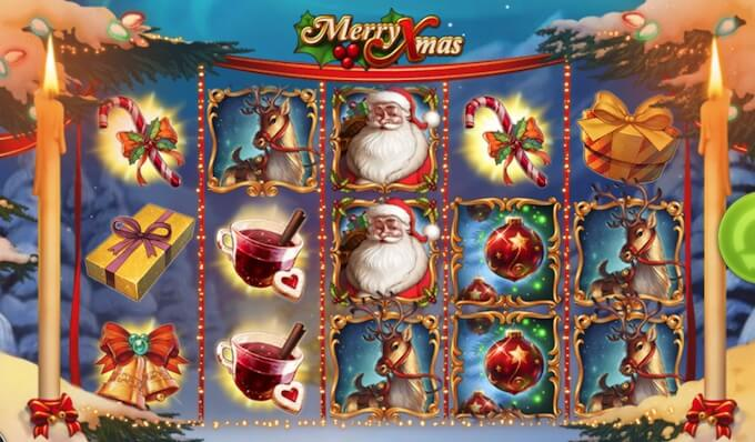 Slot Merry Xmas por Play'N Go