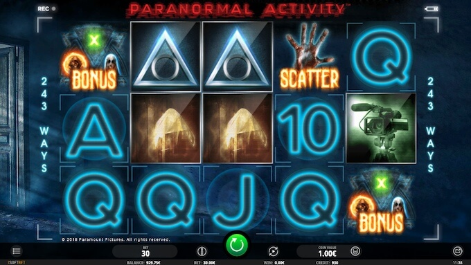 Paranormal Activity slot jogar