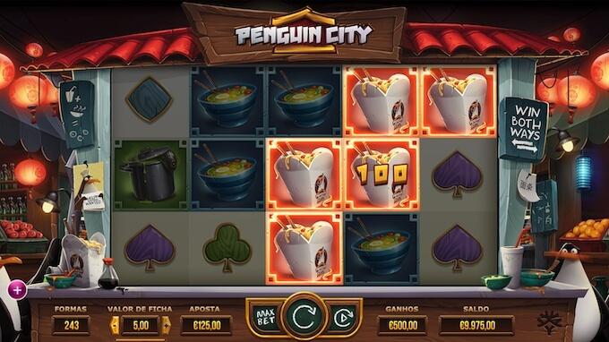 Slot Penguin City Yggdrasil