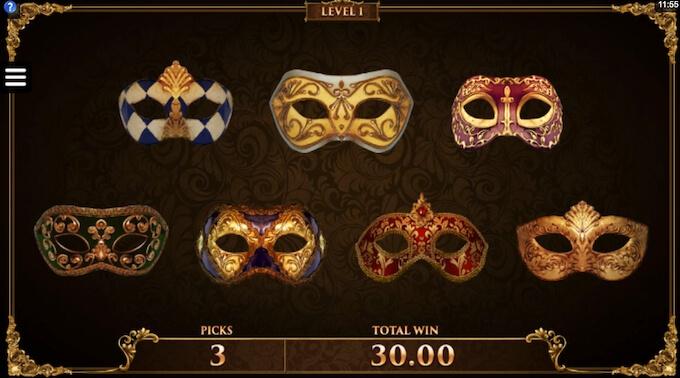 Recurso Masquerade Pick Bonus