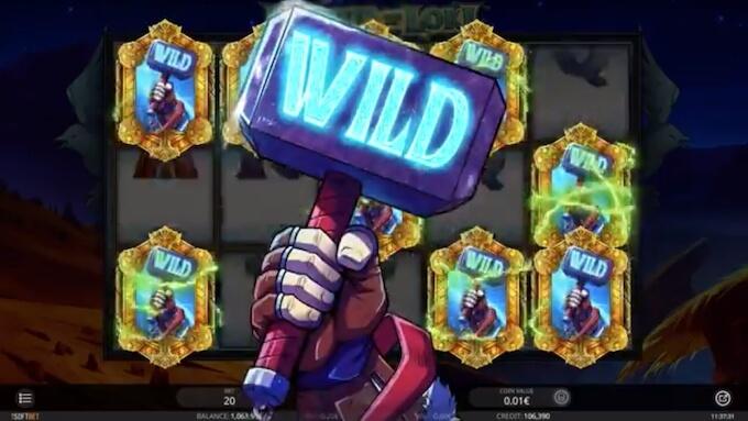 Recursos slot Legend of Loki