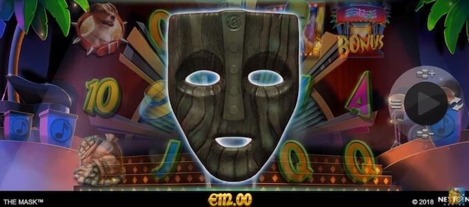 Recursos slot The Mask