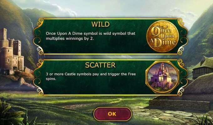Recursos slot Once Upon a Dime 888 Gaming