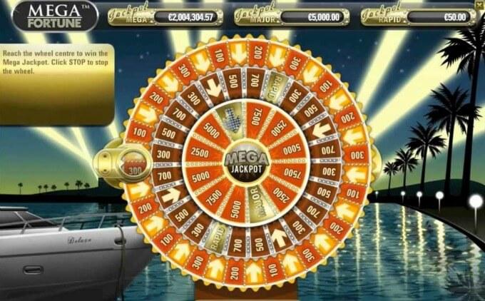 Roda da Fortuna slot Mega Fortune