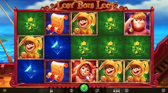 Símbolos slot Lost Boys Loot
