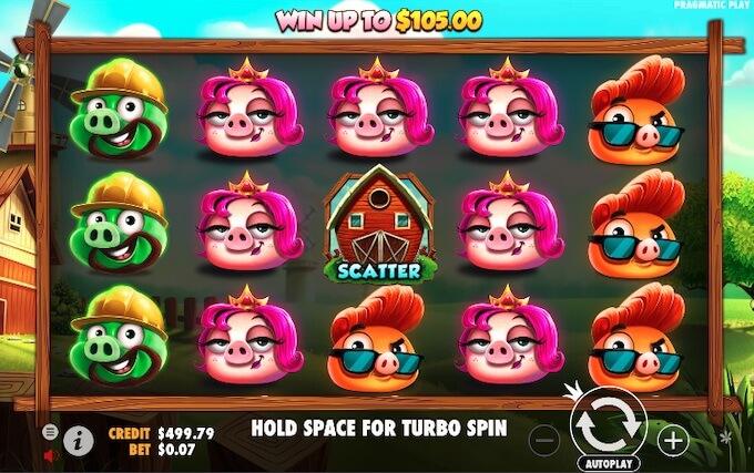 Design slot 7 Piggies Pragmatic Play