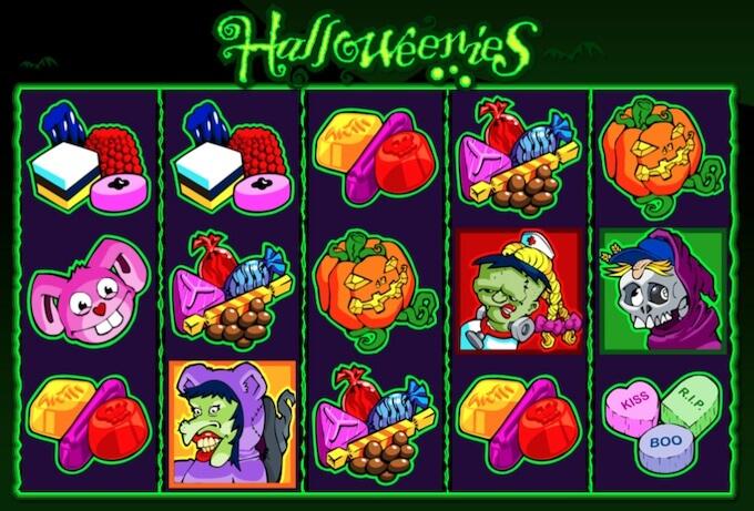Slot Halloweenies Microgaming jogar