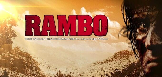 Rambo jackpot progressivo