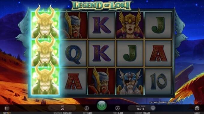 Legend of Loki slot iSoftBet