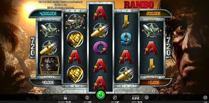 Jogar Slot iSoftBet Rambo