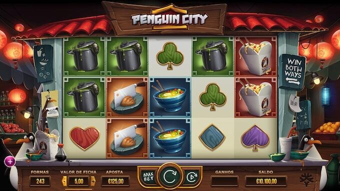 Slot Yggdrasil Penguin City