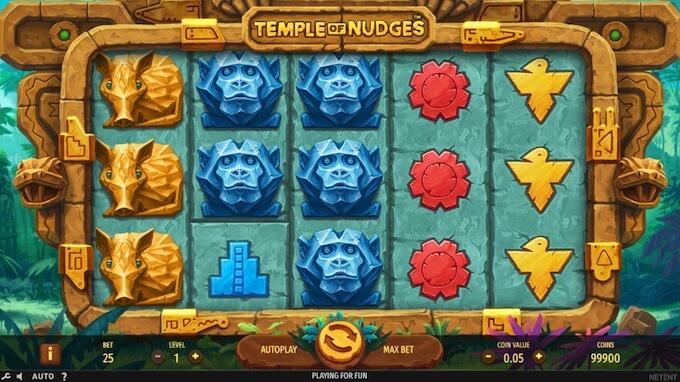 Temple of Nudges como jogar slot