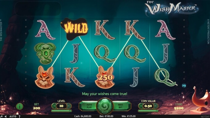 The Wish Maker slot NetEnt