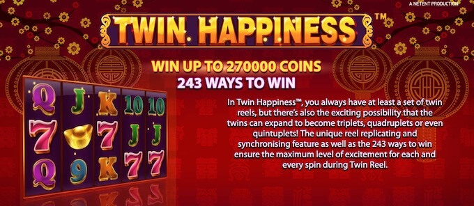 Twin Happiness slot review