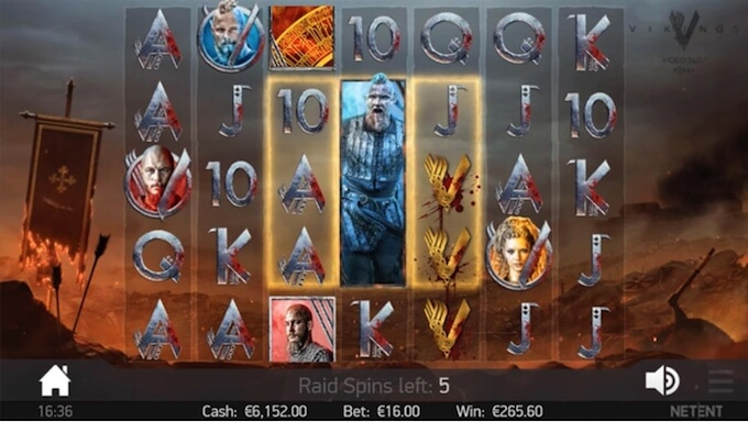 Recursos slot Vikings