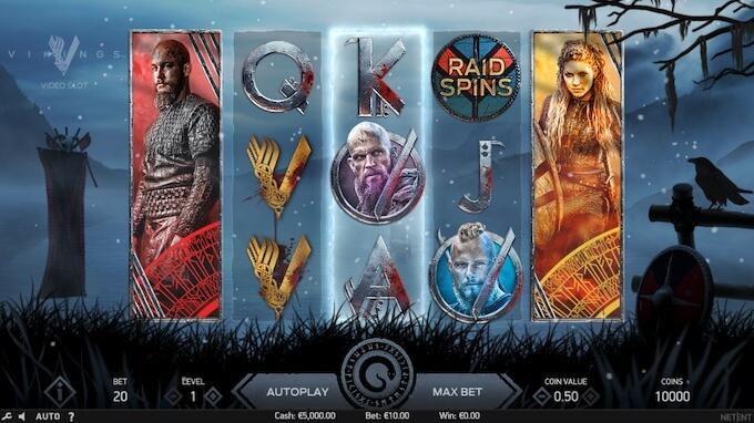 Vikings slot NetEnt
