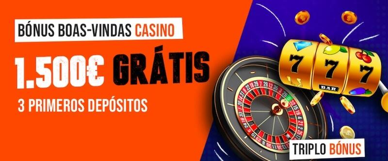 Bónus de boas-vindas Luckia Casino
