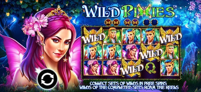 Wild Pixies slot game