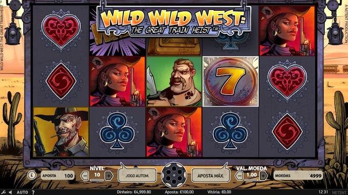 Análise slot Wild Wild West