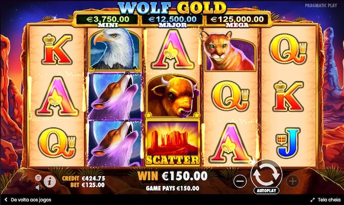 Slot Pragmatic Play Wolf Gold
